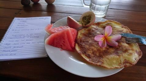 Protien banana pancake for breakfast