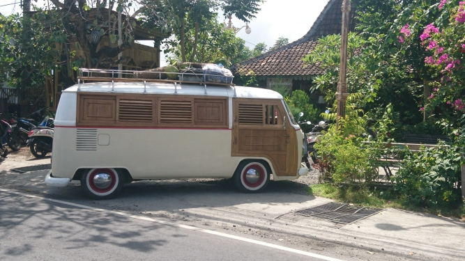 I dont know why, but every place I go, a old VW drives by...